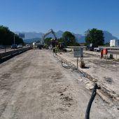 Autobahnbrücken in Klaus werden saniert