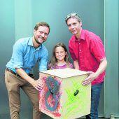 Kinder bauten ihr eigenes Kunsthaus