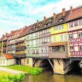 Die bedeutende Krämerbrücke