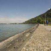 Extremwerte im Bodensee gemessen
