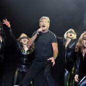 Hasselhoff begeistert Nova Rock-Publikum