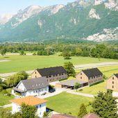 Reihenhäuser aus Holz in  Feldkirch-Bangs
