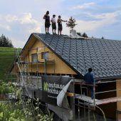 Richtfest für neue Pfadihütte auf Alpe Furx