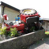Nach Traktorunfall: Ursache weiter unklar