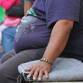 Übergewichtige sind weiter im Vormarsch