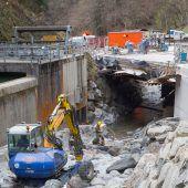 Höllbrücke erst im Herbst fertig