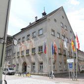 Rathausfassade wird saniert