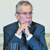 Der Bundespräsident verliert die Geduld mit der Regierung