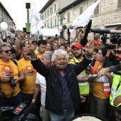 Grillo sieht seine Partei nicht als Verliererin