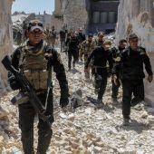Irakisches Militär nimmt Stadtviertel ein
