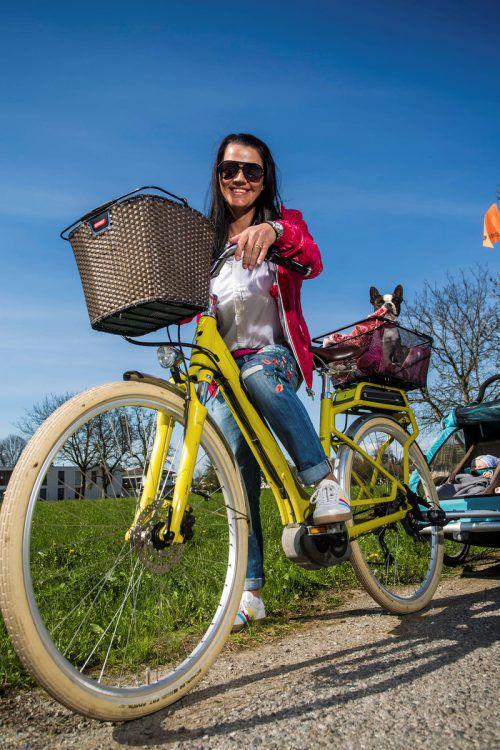 Mit dem E-Bike sind auch längere Strecken problemlos zu bewältigen.vn/steurer