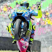 Rossi lässt sich nicht bremsen