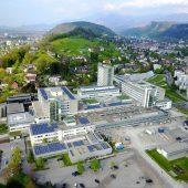 Am Spital Feldkirch wird weitergebaut