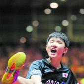 Wunderkind Harimoto spielt bei der WM auf