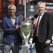 Finalstadion in Cardiff als Hochsicherheitszone