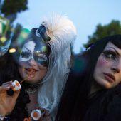 Voller Vorfreude auf das Amphi Festival