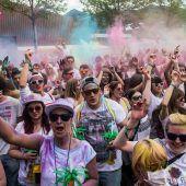 Holi Flash – Ein Fest der Farben in Dornbirn
