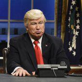 Alec Baldwin parodiert Trump weiter