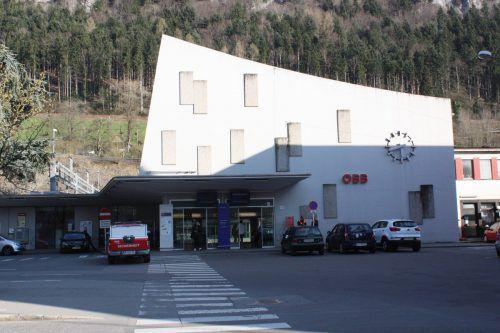 Am Bahnhof Feldkirch spielten sich blutige Szenen ab.