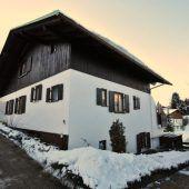 Haus in Riezlern vor Versteigerung