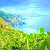 Liparische Inseln vor Italiens Küste