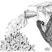 Inhalt einer Trump-Rede!