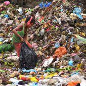 Auf der Suche nach recycelbaren Gegenständen