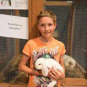Kaninchen als Freunde der Kinder