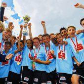 Triumph für Hohenemser Sportmittelschüler im Landesfinale