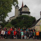 596 Sportlerinnen und Sportler bei Bewegungstreffs in Rankweil
