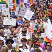 Widerstandsmarsch der LGBTQ-Gemeinschaft