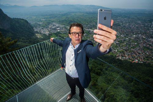 Für Wirtschaftskammerpräsident Hans Peter Metzler ist die Digitalisierung das wichtigste Zukunftsthema.VN/Steurer