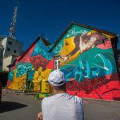 Jugendzentrum Between erstrahlt in frischer Farbe