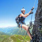 Abenteuerliche Klettertour bei traumhaftem Wetter
