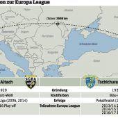Der Gang nach Georgien wird für Altach kein leichter sein