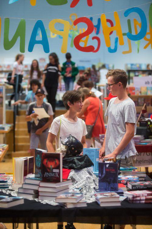 Vom 19. bis 21. Juni steht Götzis ganz im Zeichen der Kinder- und Jugendbücher. Informationen zur Buch am Bach der VN auf www.vn.at/buchambach. VN/Steurer