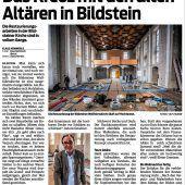 Debatte um Wallfahrtskirche in Bildstein geht weiter