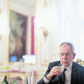ALEXANDER VAN DER BELLEN Bundespräsident