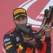 Zank beim Ricciardo-Sieg