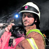 Lokal. Feuerwehr rettete Hunde bei Wohnhausbrand in Hohenweiler