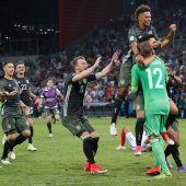 Deutschland bejubelt Finaleinzug nach Elfmeterkrimi