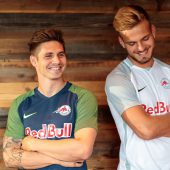 Rote Bullen mit neuem UEFA-Gewand