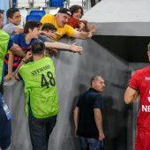 Georgische Fußballfans feierten Netzer