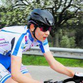 Dominik Amann fuhr auf der Straße zum Radttitel