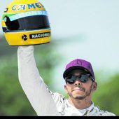 Hamilton mit Senna gleichauf