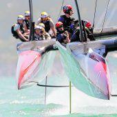 Neuseeland segelt in Richtung Sieg