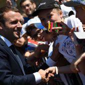 Klare Mehrheit für Macron
