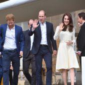 Royals besuchen Deutschland