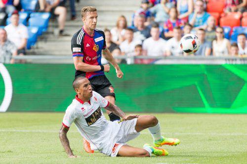 Marc Janko beeindruckte die Fans in der Schweiz nochmals. gepa
