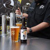 Bierbrauer setzen Zeichen gegen Trump
